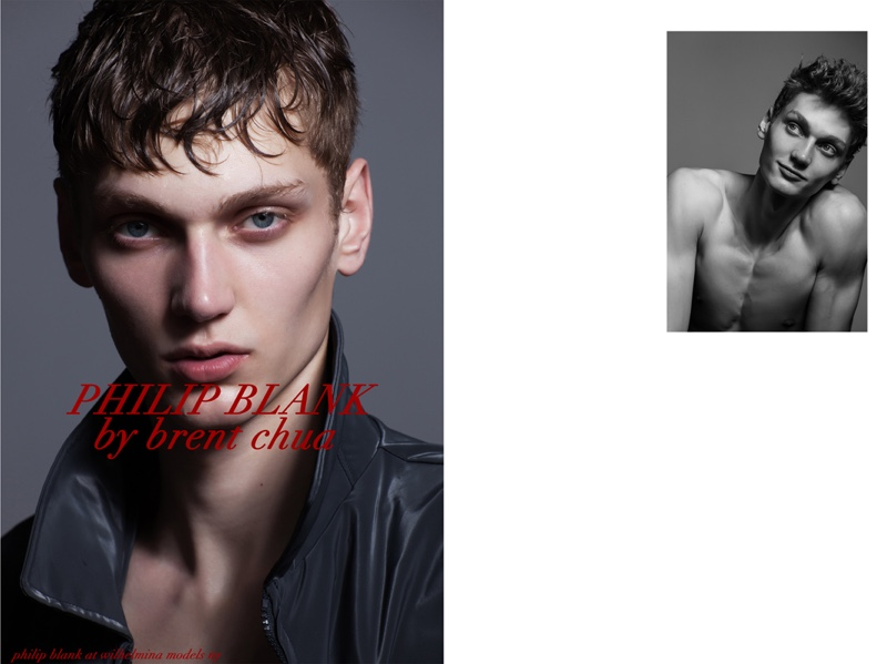 Fashionisto Exclusive: Philip Blank photographed by Brent Chua