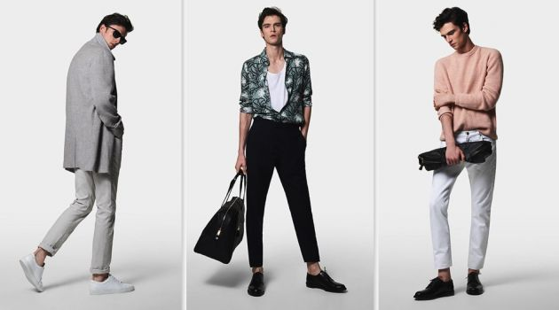 Reiss Embraces Sophisticated Cool for Spring '18 Collection