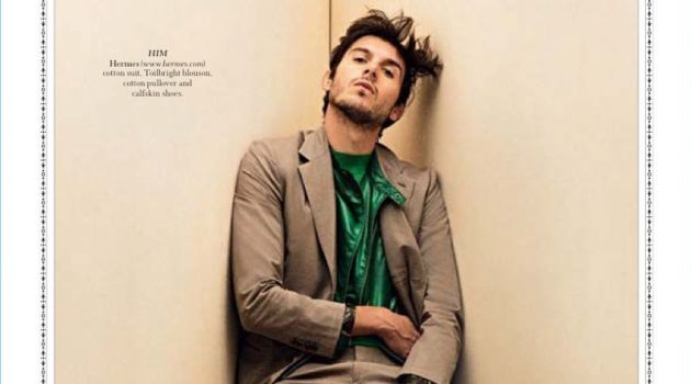 The Right Angle: Matt Corrias in Hermès for Robb Report Singapore