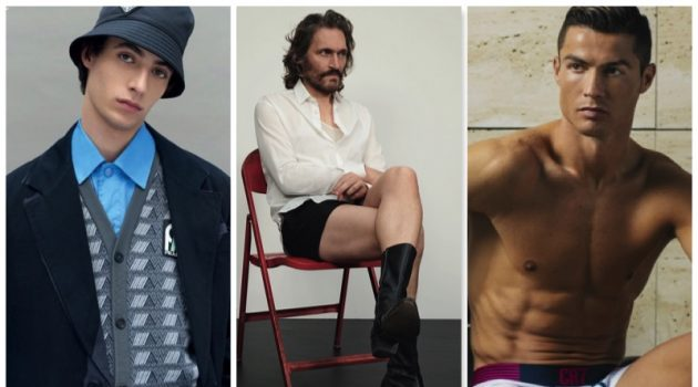 Week in Review: L'Officiel Hommes' Fall Preview, Vincent Gallo, Cristiano Ronaldo Underwear + More