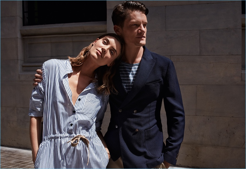 Rachel Alexander and Danny Beauchamp front Windsor's spring-summer 2018 campaign.