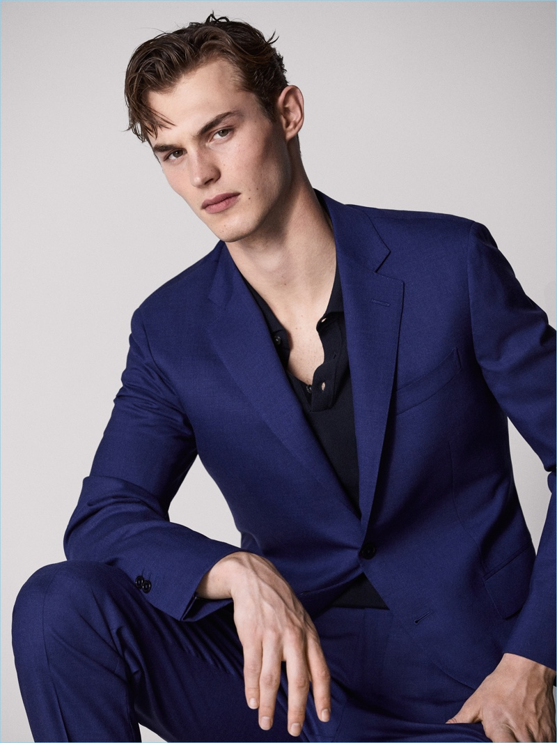 Kit Butler connects with Massimo Dutti for a sartorial outing.