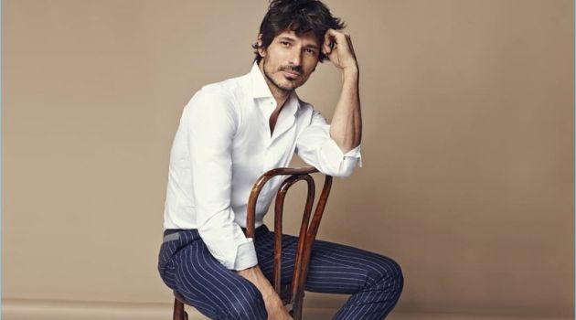 Andres Velencoso fronts Carmela's spring-summer 2018 campaign.