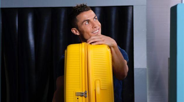 Cristiano Ronaldo stars in a new advertisement for American Tourister.