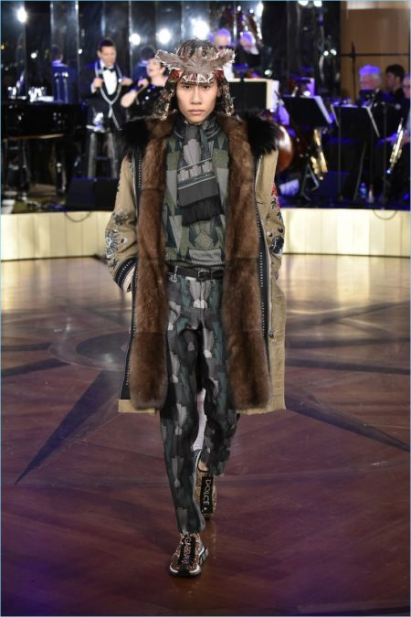 Dolce & Gabbana Alta Sartoria guarda a New York per l'ispirazione primavera '18