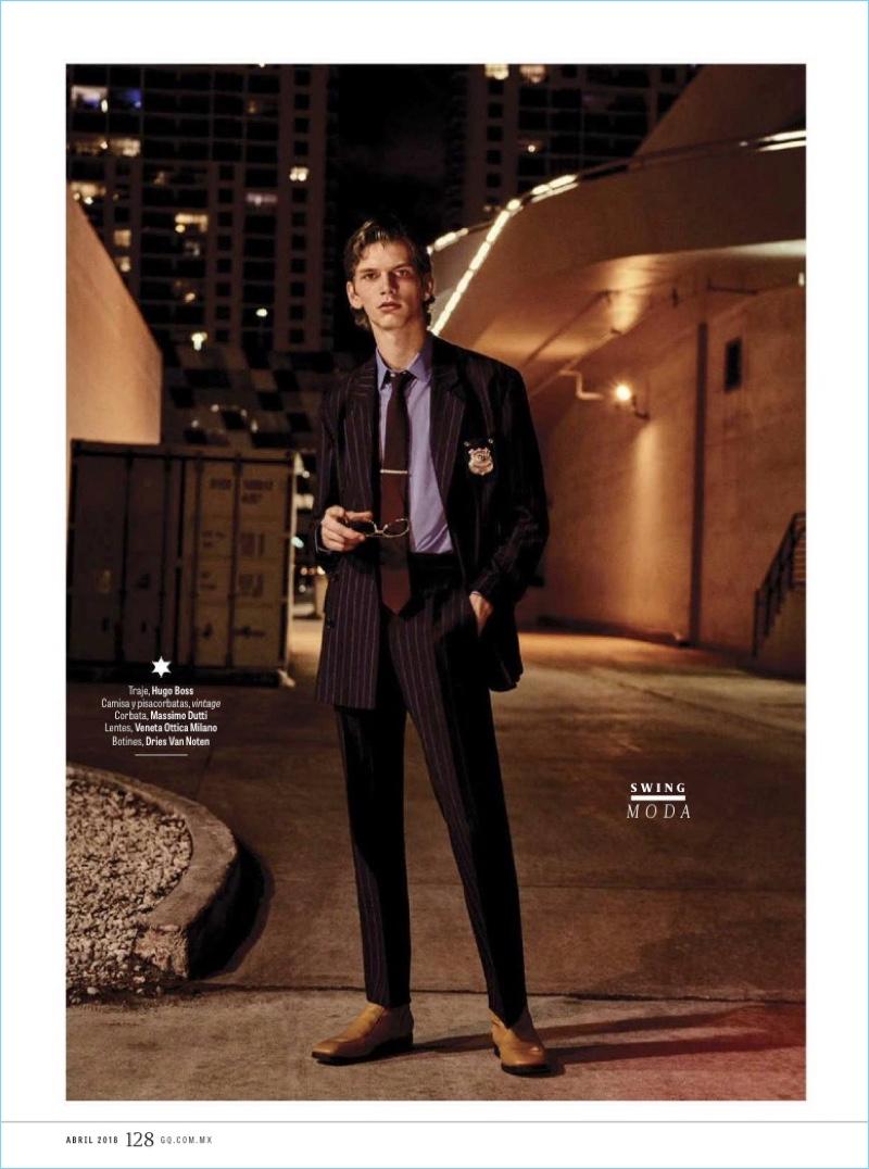 Agente Especial: Erik van Gils for GQ México