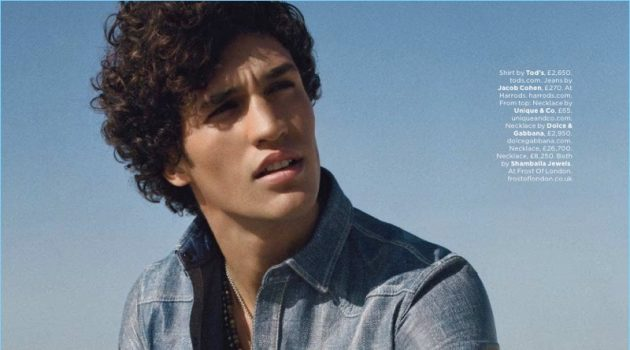 Denim's New Wave: Francisco Henriques for British GQ
