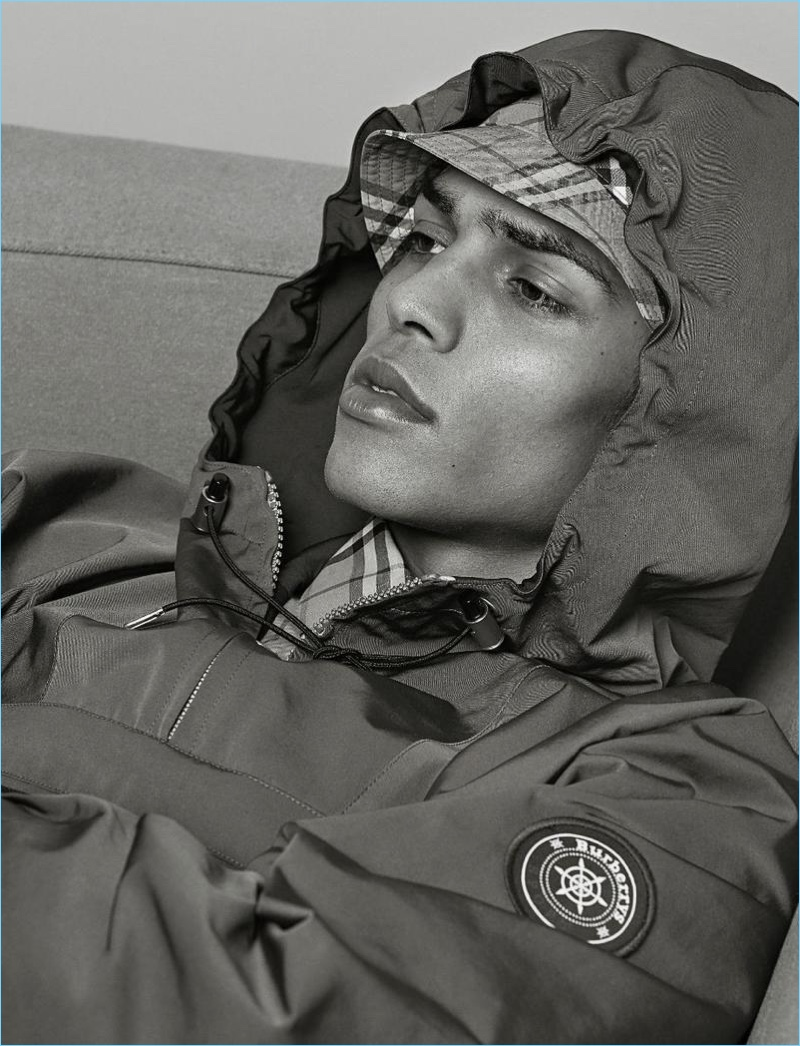 Geron McKinley Dons Burberry for At Large