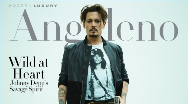 Johnny Depp covers Modern Luxury Angeleno.