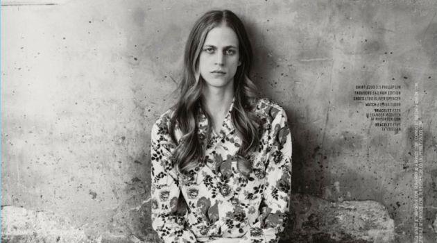 Jean Selection: Konan Hanbury Models Denim for Men's Health UK