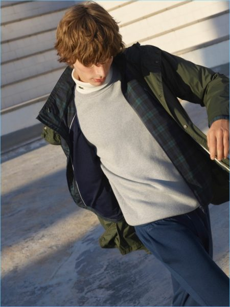 Lacoste Sportswear Keeps It Simple for Fall '18 Collection