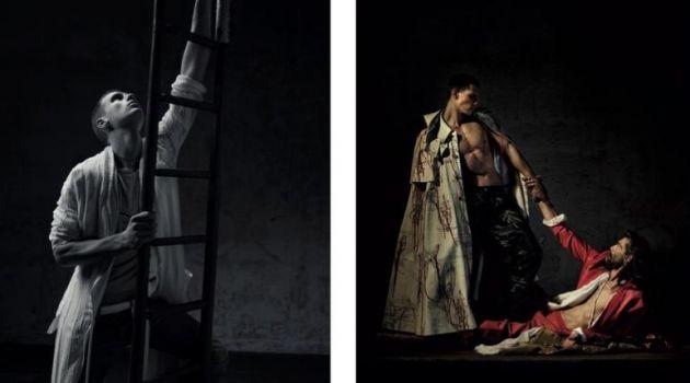 En Mode Sacré: Patrick Petitjean & Augusta Alexander for Les Echos