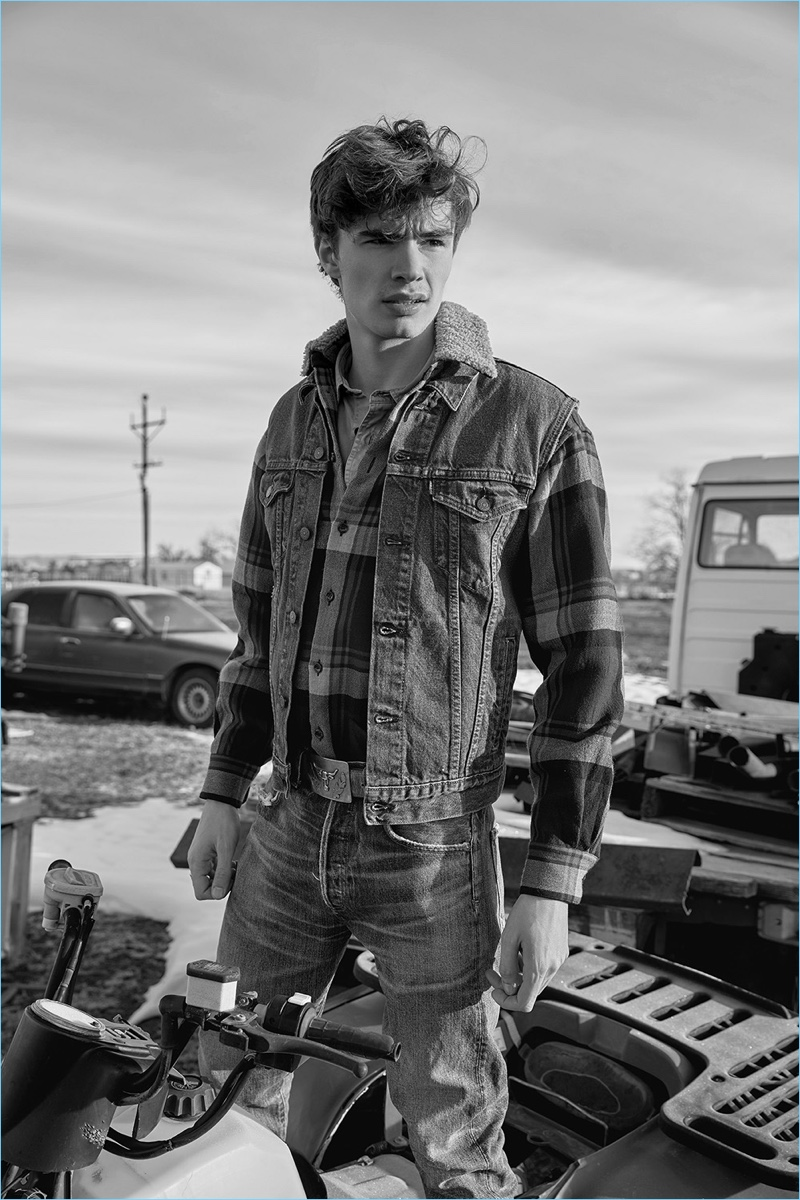 Miles & Miles of Texas: Liam Little Models Western Style for VMAN