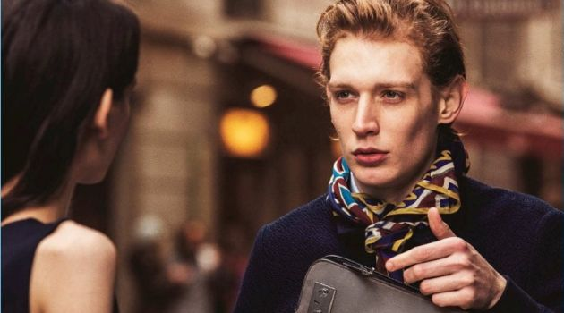 Lucas Dambros Takes Hold of Furla's Latest Bags for GQ Japan
