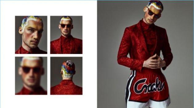 Misa Patinszki Embraces Bold Style for L'Officiel Ukraine
