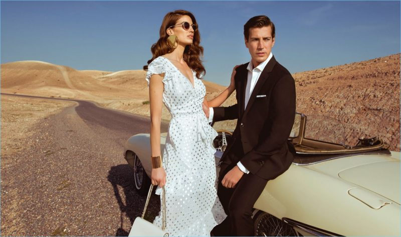 Davinia Pelegri and Oriol Elcacho star in Pedro del Hierro's latest style edit.