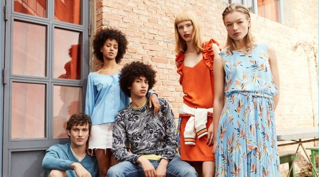 Summer style is front and center for Pepe Jeans' latest outing.