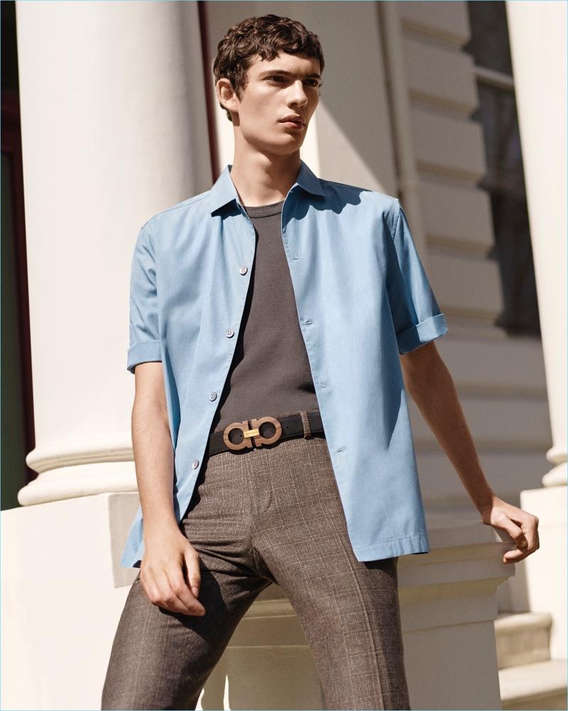 Salvatore Ferragamo   Men s Switch Belt   Piero Méndez   The Fashionisto 3fca1ca7e3