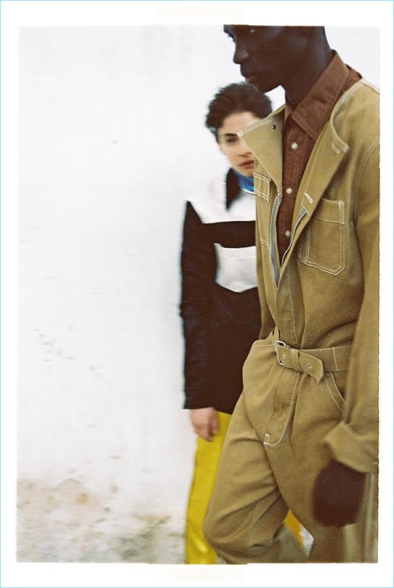 Fernando Cabral Joins Alba Galocha for Vogue Portugal Cover Story