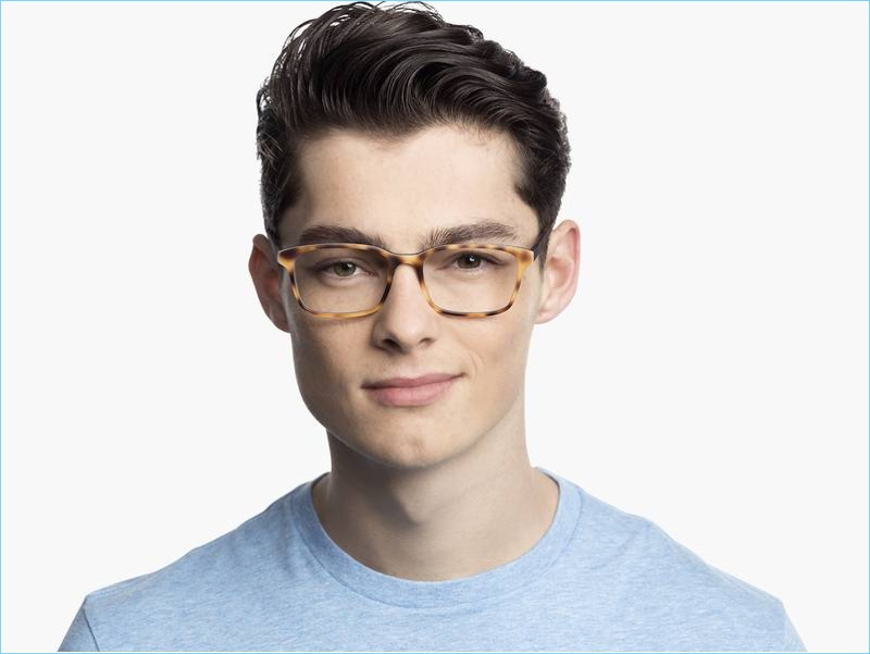 85c75eb907 Brady Glasses in Layered Tortoise Matte from Warby Parker