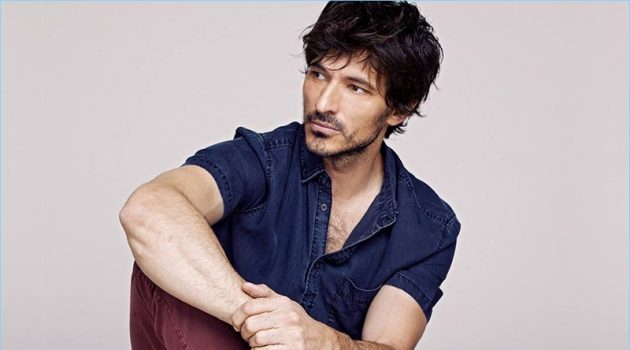Andres Velencoso stars in Xti's spring-summer 2018 campaign.