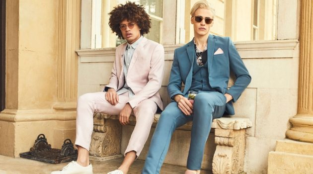 boohooMAN unveils its spring-summer 2018 Tailoring collection.