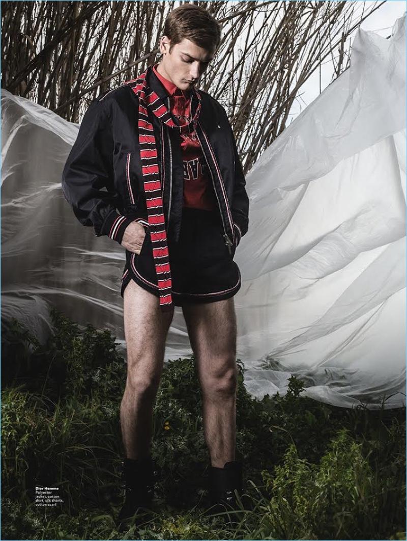 Adrien Jacques Dons Designer Looks for Men's Folio Singapore