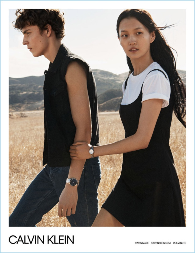 Calvin Klein Goes Americana for Spring '18 Watches Campaign