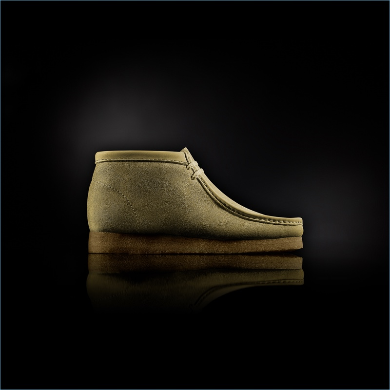 """Clarks """"Made in Italy"""" Wallabee Boots in Sand"""