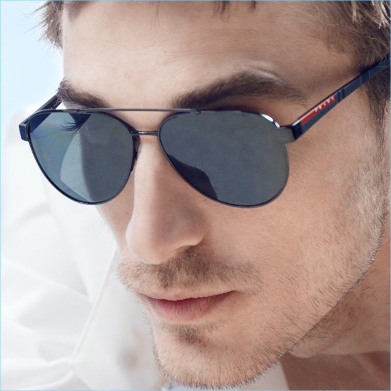 A cool vision, Clément Chabernaud connects with Prada Linea Rossa.
