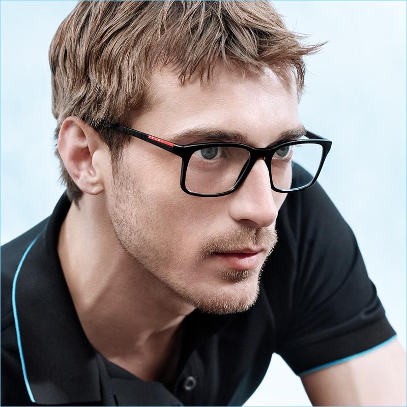 5dced4667fe8 Clément Chabernaud | Prada Linea Rossa | 2018 | Eyewear Campaign ...