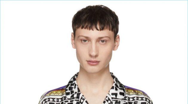 Dolce & Gabbana Multicolor Silk King of Hearts Shirt