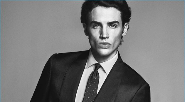 New Behaviour: Federico Novello Dons Massimo Dutti Formal Collection