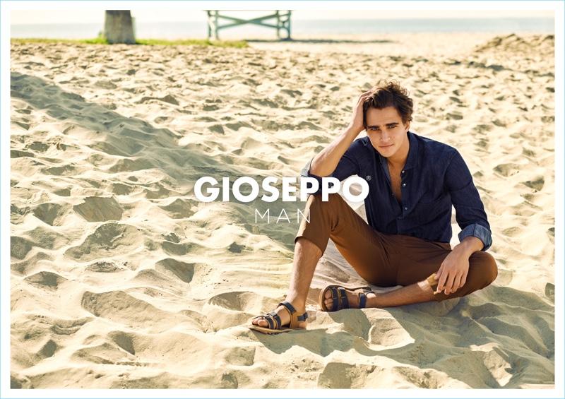 Emilio G Hernandez photographs Pepe Barroso for Gioseppo Man's spring-summer 2018 campaign.