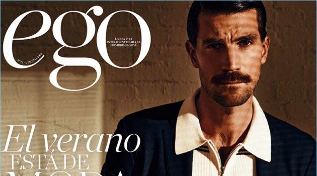 Henrik Fallenius is Sharp for EGO Revista Cover Story