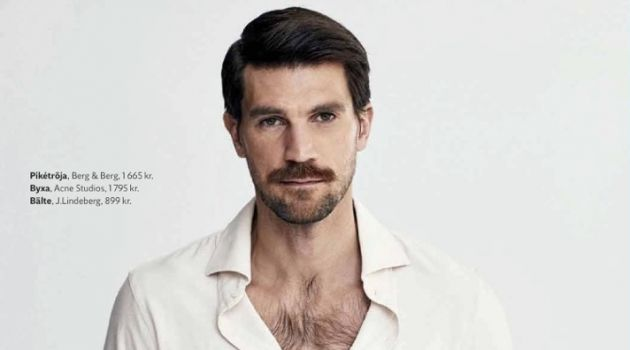 Henrik Fallenius Embraces Neutral Fashions for King Magazine