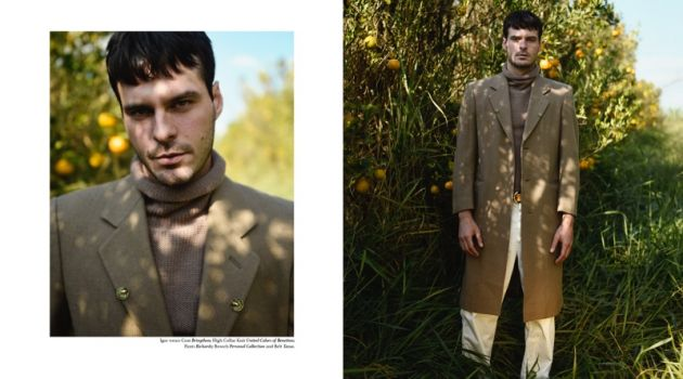 Field: Igor Monteiro Inspires in Early Fall Styles