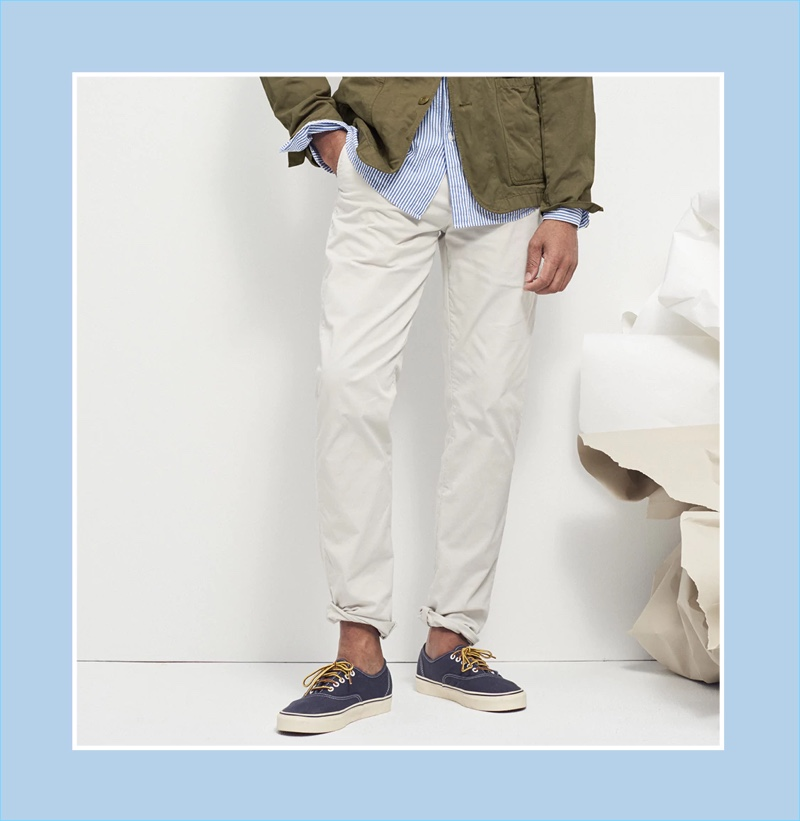 Lightweight Chinos: J.Crew spotlights its 484 slim-fit lightweight chinos.
