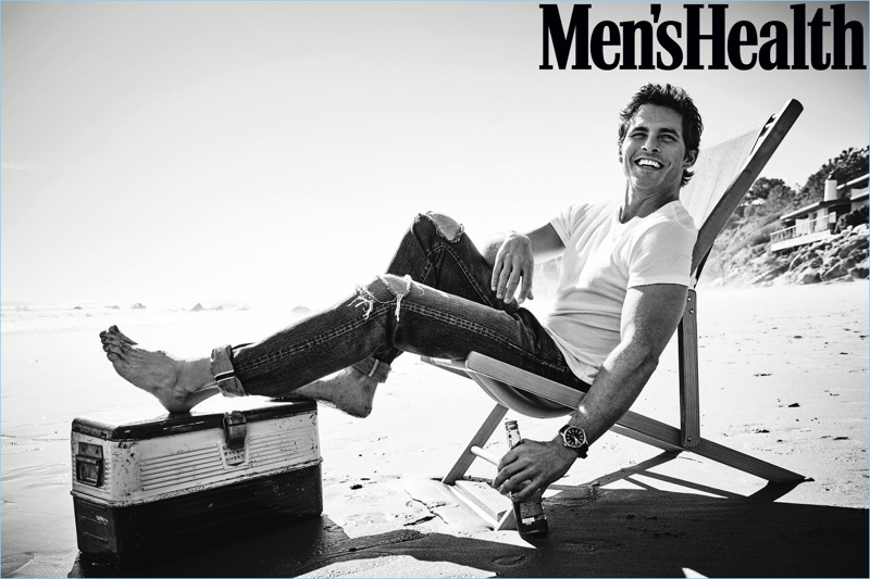Men's Health connects with James Marsden for its June 2018 cover feature.