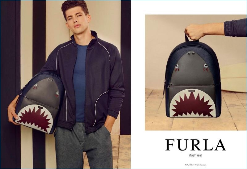 Jamie Wise stars in Furla's spring-summer 2018 campaign.