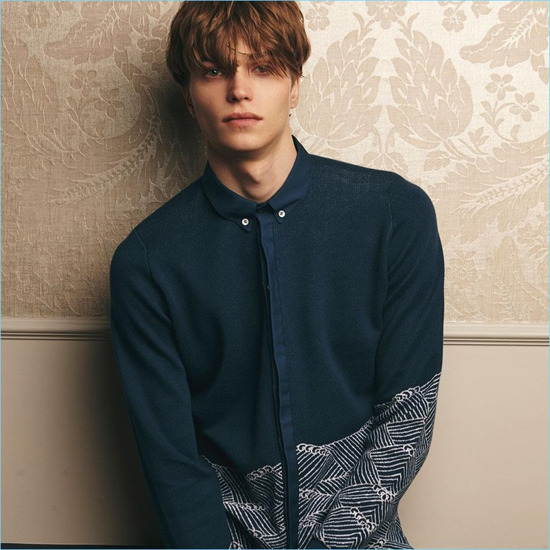 John Smedley enlists Jake Love as the star of its spring-summer 2018 campaign.