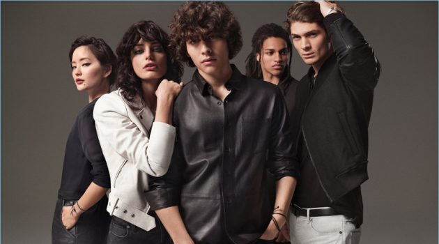 Francisco Perez + More Front Kenneth Cole Fragrance Campaign