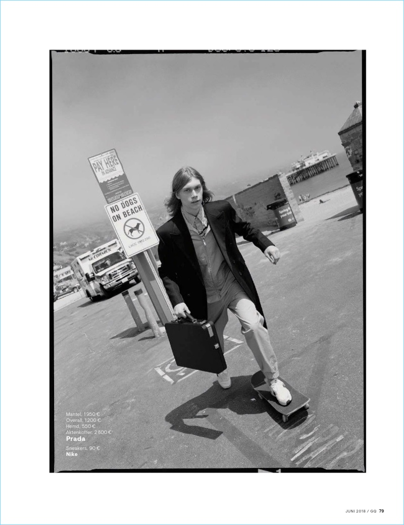 Kit Warrington Rocks Tailored Fashions for GQ Germany