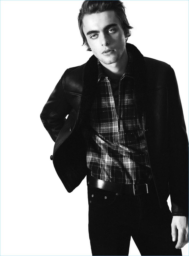 c8fe31fc3b Lennon Gallagher | Saint Laurent | Fall 2018 | Men's Campaign | The ...