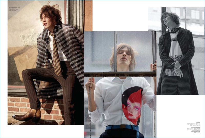 Rockstar Reboot: Lucas Satherley for GQ Style China