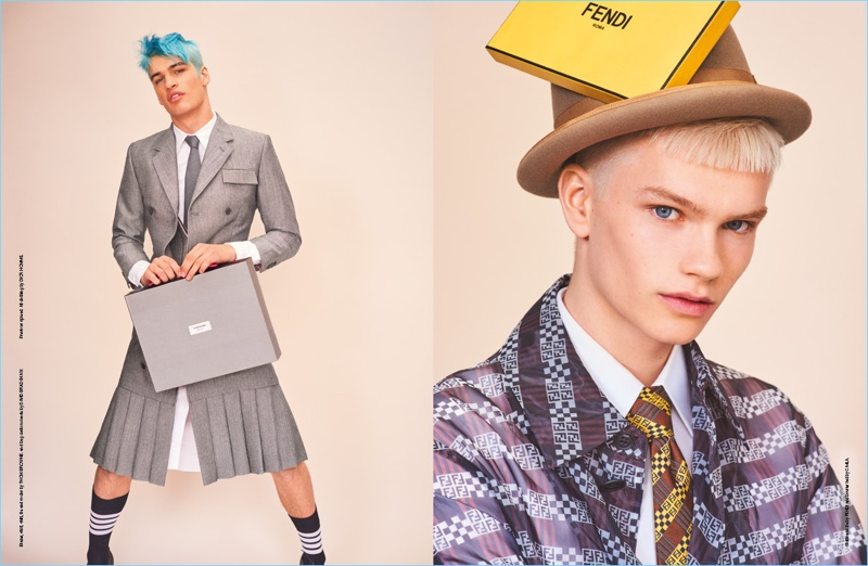 Jordy Gerritsma & Roman G. Are Label Obsessed for Man About Town