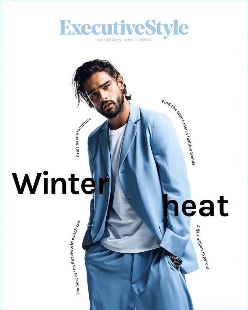 Marlon Teixeira Embraces Australian Winter for Executive Style