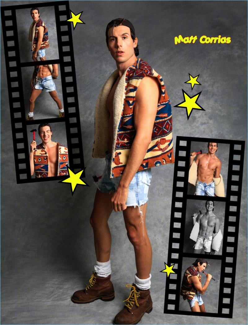 Matt Corrias is a 'Teen Idol' for FACTORY Fanzine
