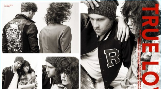 Max Motta Couples Up with Laura Miranda for Victor Magazine