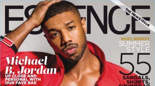 Michael B. Jordan covers the June 2018 issue of Essence magazine.